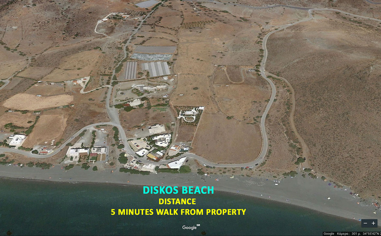 Diskos Beach Kreta Greece