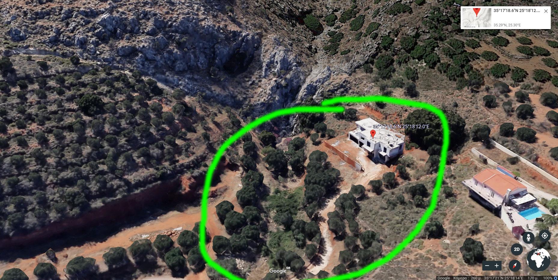 Große Villa auf Kreta
