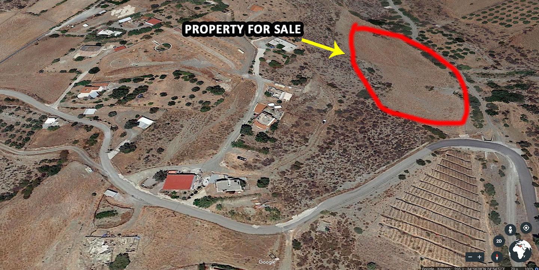 Land for sale in Lentas Kreta